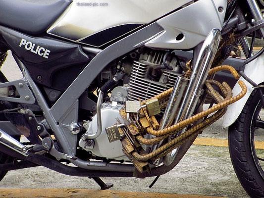 Police Bike - Bangkok - Thailand