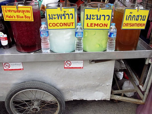 Cold Drink - Chatuchak Weekend Market - Bangkok