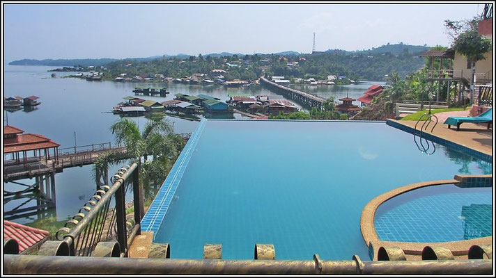 Fantastic View From Samprasob Resort - Sangkhla-Buri