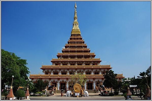 Phra Mahathat Kaen Nakhon - Wat Nong Wang - Khon Kaen