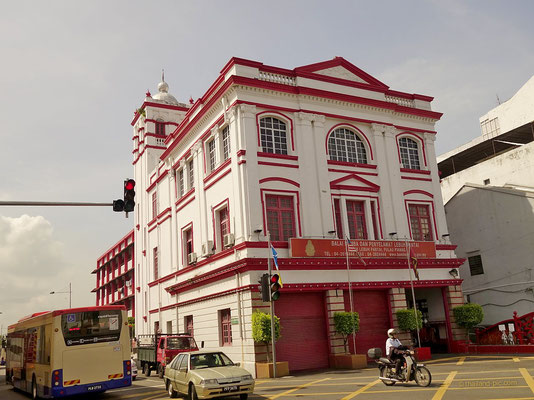 Fire Station - George Town - Penang - Malaysia - April 2017