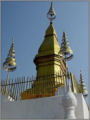 Luang Prabang -  Wat Phu Si