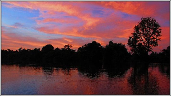 Sunset - Kanchanaburi