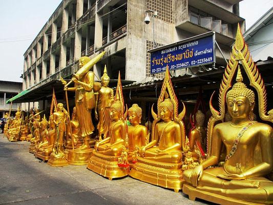 Buddha Statues Store - China Town - Bangkok