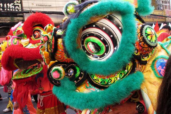 Chinese New Year 2018 - Final Parade - Dragaons