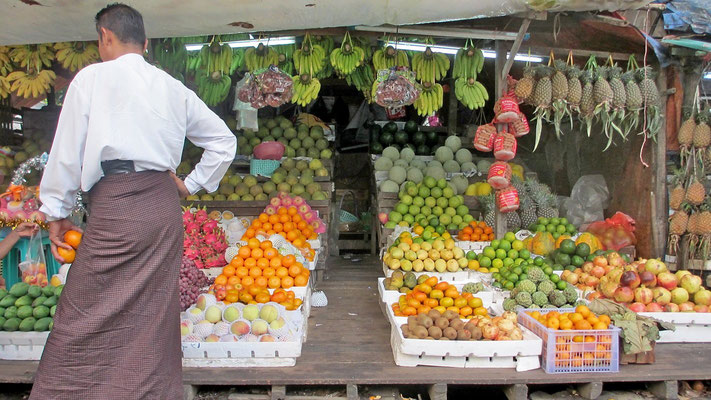 Fruit Shop - Yangon - Myanmar