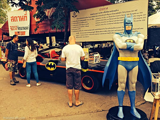 ฺBatman at Chatuchak Weekend Market - Bangkok - Thailand