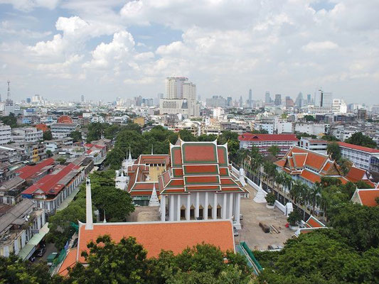 View from top of the Golden Mount - Bangkok