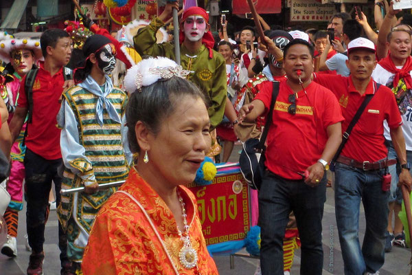 Chinese New Year 2018 - Final Parade - Face Paintings
