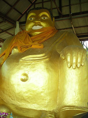 Kanchanaburi - Buddha On The Hill -