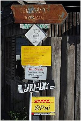 Pai City - Destination Board
