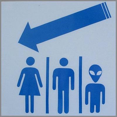 Toilet Sign Sangklaburi