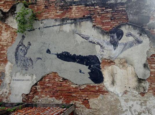 Street Art At George Town - Old Quarter - Penang - Malaysia - October 2016