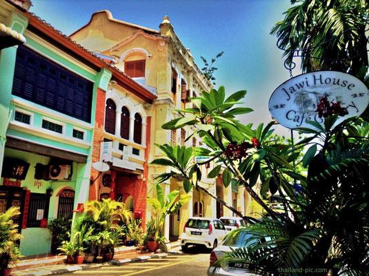 Armenian Street - Old Quarter - George Town - Penang - Malaysia - January 2015