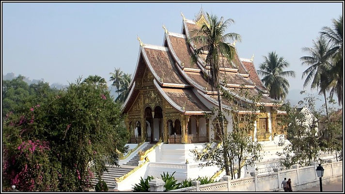 Luang Prabang -  Temple at the old palace