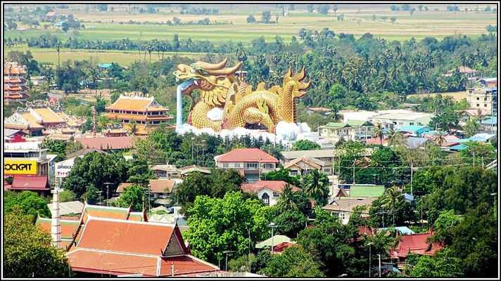 Dragons Decendants Museum and Temple - Suphanburi - View from the City Tower