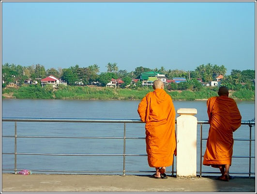 Monks On The River