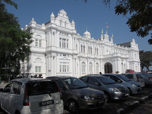 Town Hall - Old Quarter - George Town - Penang - Malaysia - January 2016