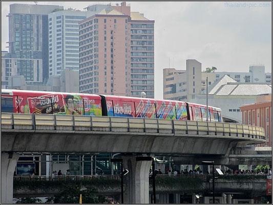 BTS Skytrain Victory Monument Station - Bangkok