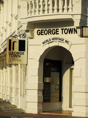 World Heritage Inc. Office - Old Quarter - George Town - Penang - Malaysia - January 2015