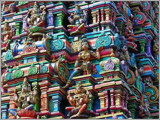Sri Maha Mariamman Temple - Silom Road/Soi13 - Bangkok