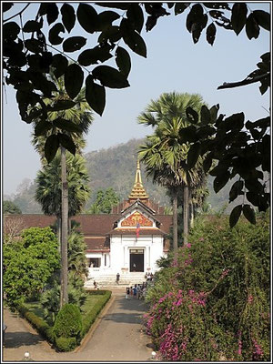 Luang Prabang -  The old palace