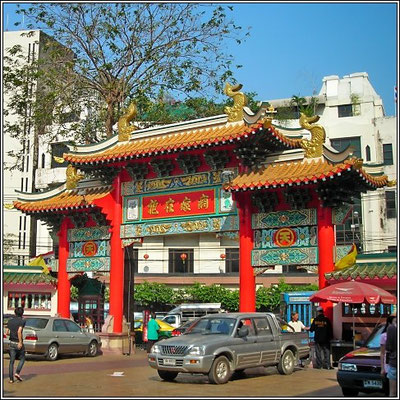 Chinese Temple - China Town Bangkok