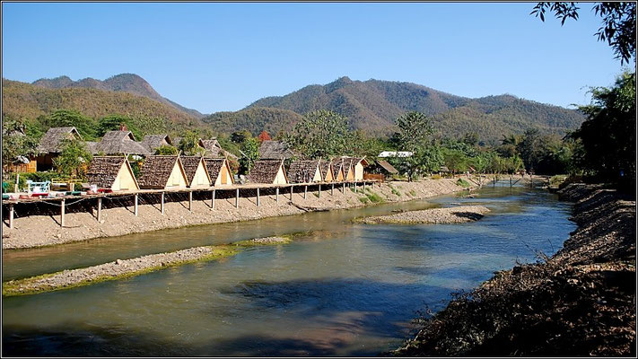 Pai - Resort on the river