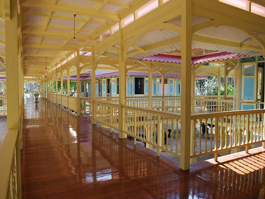 Hua Hin - The Wooden Palast  - Phra Ratchaniwet Marrukha Thayawan -