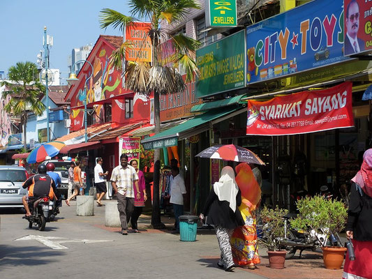 Little India - Old Quarter - George Town - Penang - Malaysia - January 2016