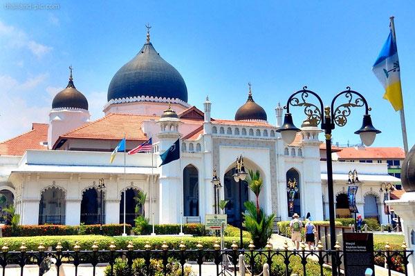 Kapitan Keling Mosque - Old Quarter - George Town - Penang - Malaysia - January 2015