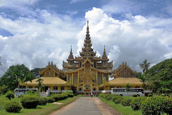 The Palast Of The Last King - Bago - Myanmar