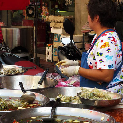 Street Food - Chinese New Year 2016 - China Town - Bangkok