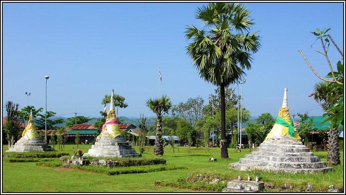 Three Pagodas Pass - Sangkhla-Buri District