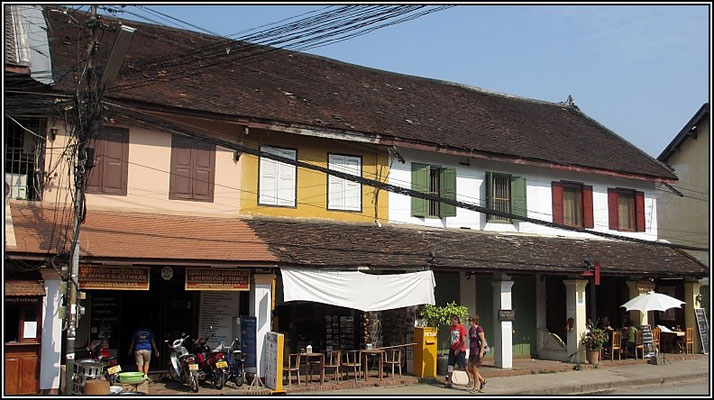 Luang Prabang -  French provincial architecture