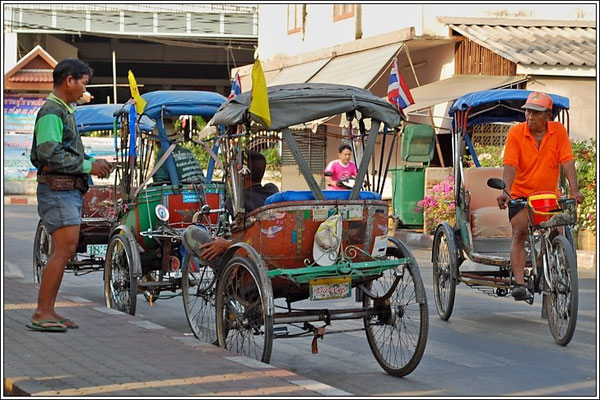 Rickshaws - Nonthaburi City