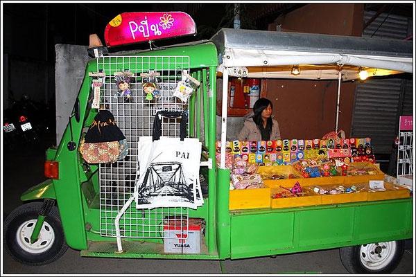 Pai - Walking Street - Tuk Tuk Shop