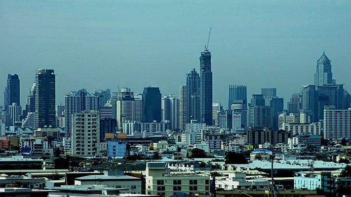 City Skyline - View from Ratchada-Sutthisan