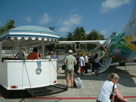 Airport Koh Samui 2004