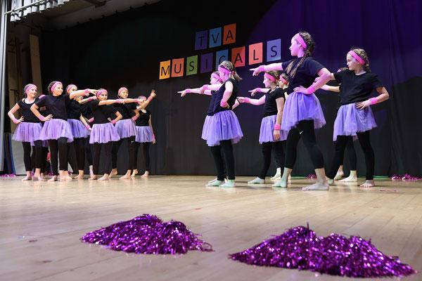 Tolle Performance der Mädchen Oberstufe!