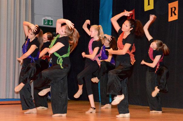 Eine wunderbare Choreografie.