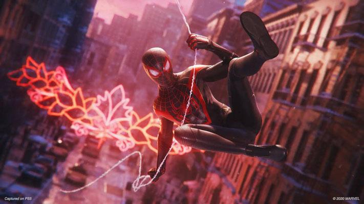 PlayStation 5 PS5 jeu Marvel's Spiderman Morales