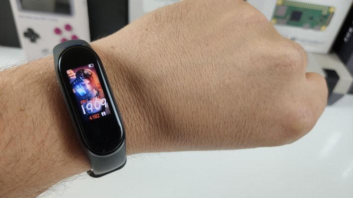 Xiaomi Mi Band 4 écran thèmes