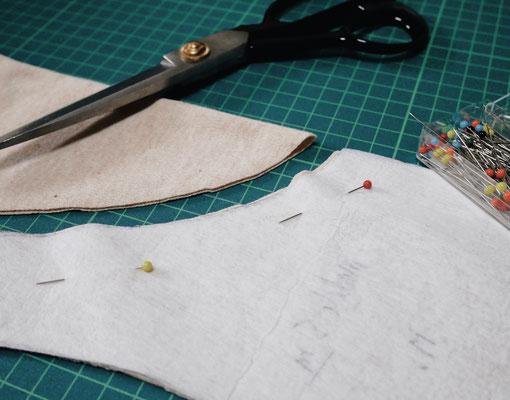 Pygoscelis Natural - handmade underwear て作り下着
