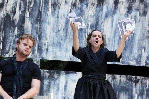 Christian Zenker (Ozia) & Marelize Gerber (Amital) in La Betulia Liberata - WA Mozart Photo: Reinhard Winkler  ©