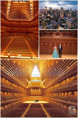 Tokyo Opera City Concert Hall, Tokyo, Japan, Marelize Gerber (Soprano) & Wolfgang Kogert (Organ)