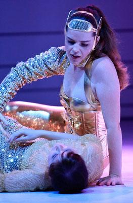 Marelize Gerber (Zéphyre) & Liudmila Shilova (Cloris) in Zéphyre - J-P Rameau Photo: Christian Husar ©