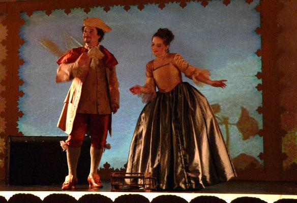 Gernot Heinrich (Tirsi) & Marelize Gerber (Clori) in Clori, Tirsi e Fileno - GF Händel