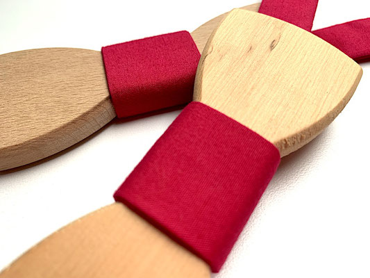 Holzfliegen Projekt Pink