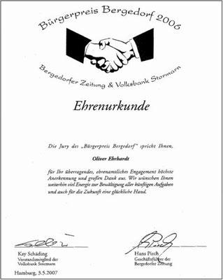 Bürgerpreis 2006